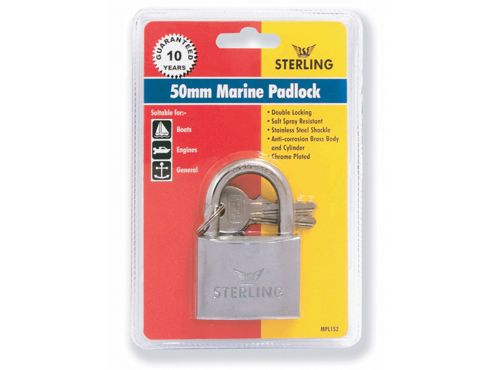 Sterling Mpl142 Db Marine Padlock 40Mm