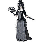 Ghost Town Black Widow - Adult Costume Size: 12-14