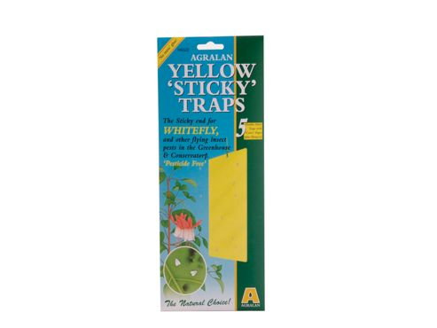 Agralan Ha522 Yellow Sticky Trap X5