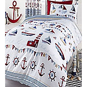 Nautical, Single Bedding