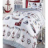 Nautical, Single Bedding