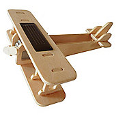 Solar Biplane Wooden Craft Kit