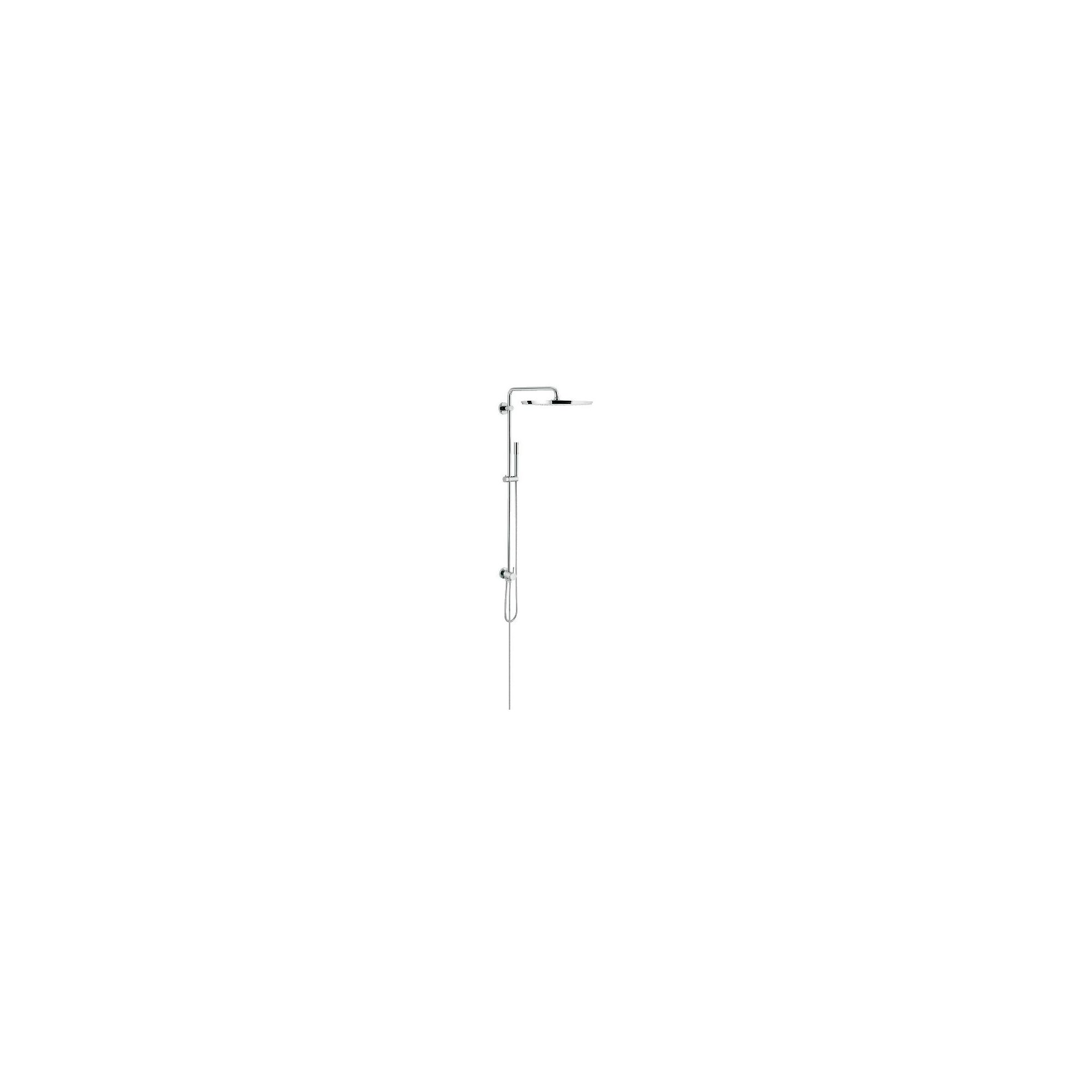 Grohe Rainshower 27175000 Concealed Shower, 400mm Fixed Head, Handset, Chrome at Tesco Direct