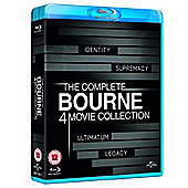 The Bourne Legacy Quadrilogy (Blu-Ray Boxset)
