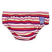 Bambino Mio Swim Nappy - Large Pink Stripe 9-12kg