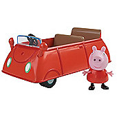 Peppa Pig Vehicle with Figure - Car