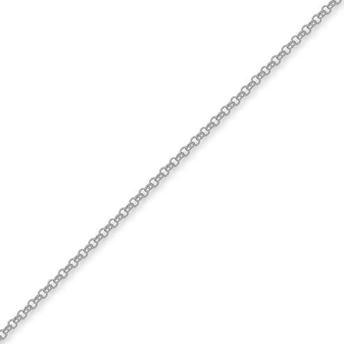 Jewelco London Sterling Silver 2.5mm Gauge Micro Belcher Chain - 30 inch