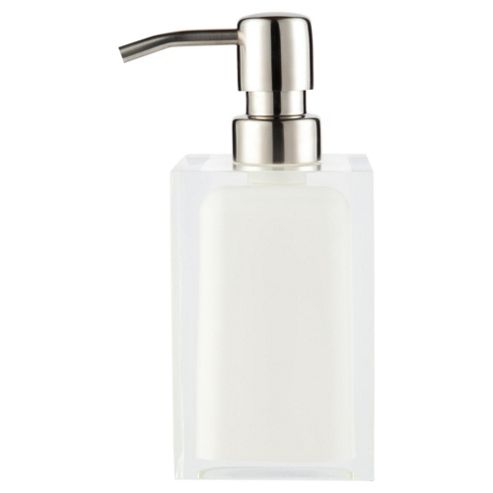White High Gloss Soap Dispenser