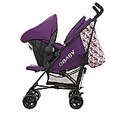 Obaby Zeal Stroller Travel System Bundle - Little Cutie