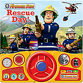 Fireman Sam Rescue Day Steering Wheel Sound Book