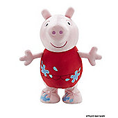 Peppa Pig Holiday Jumping Peppa Soft Toy