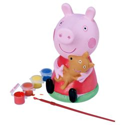 Peppa Pig Paint & Save Money Box