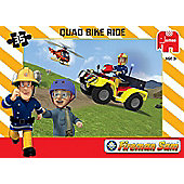 Fireman Sam Jumbo Games Quad Bike Ride Jigsaw Puzzle
