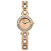 Karen Millen Ladies Swarovski Crystal Watch - KM116RGM