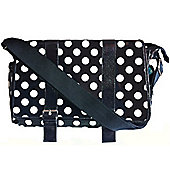Miracle Milan Changing Bag Black Spot