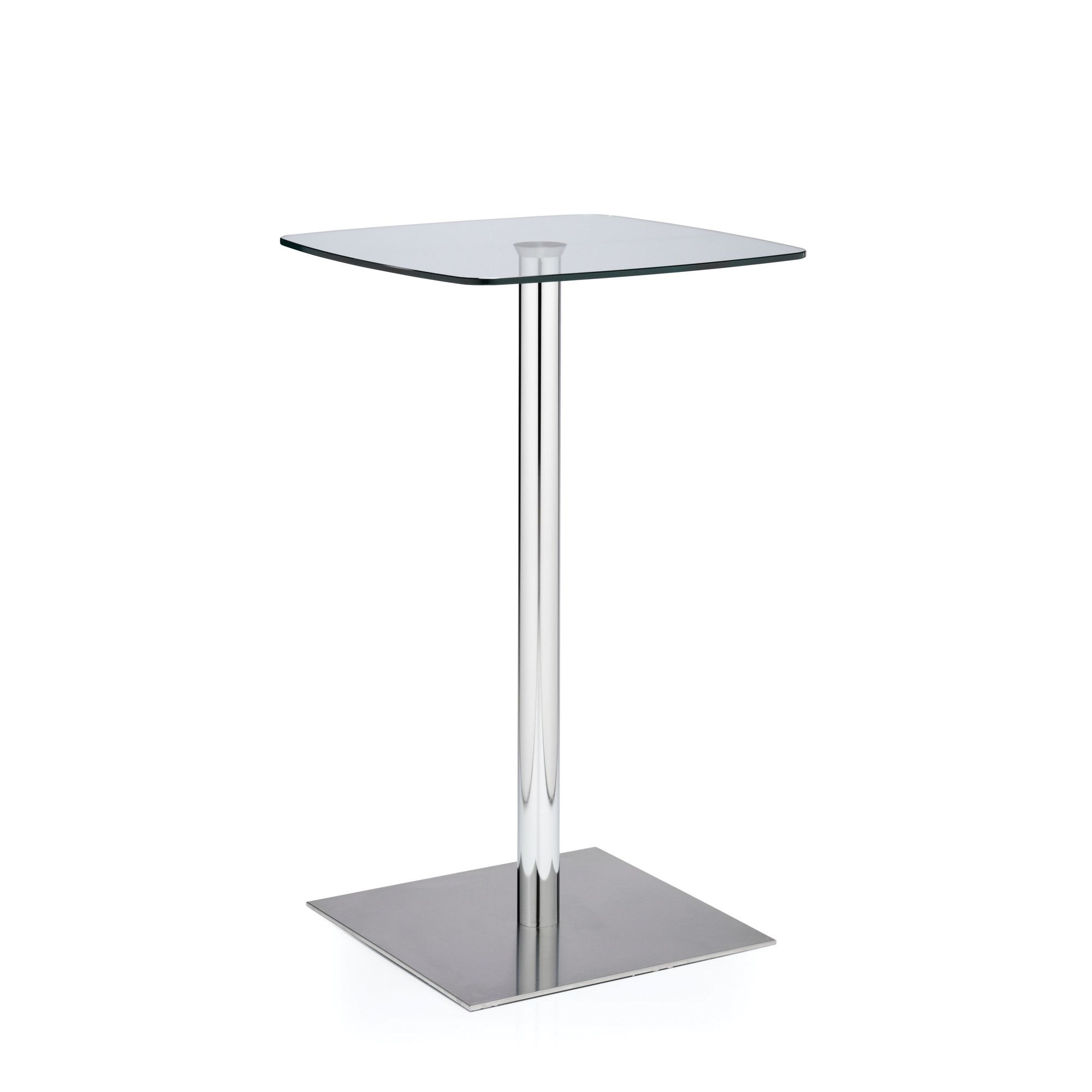 Ocee Design Venalo Square Base Poseur Table at Tescos Direct