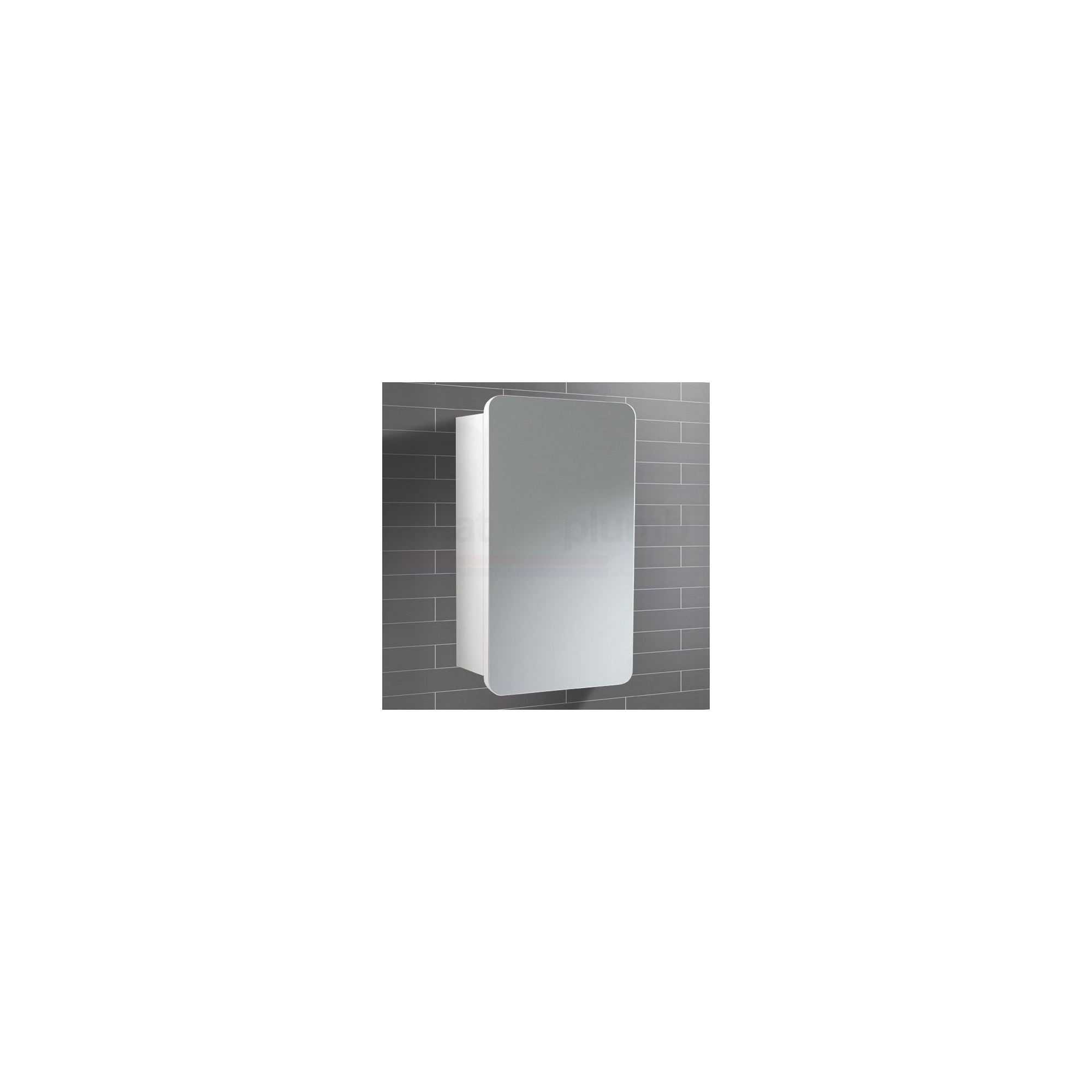 HiB Montana Mirrored Bathroom Cabinet 570mm High x 350mm Wide x 140mm Deep