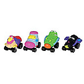 The Trash Pack Wheels - 4 Trashies Figurines Series 2