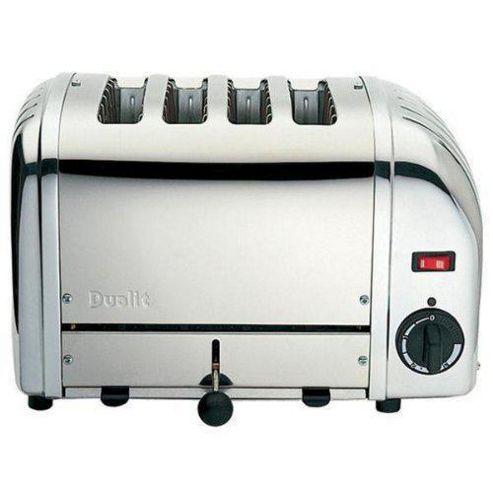 Dualit 40352 Vario 4 Slice Toaster Polished Stainlessteel