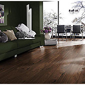 Westco 8mm V-Groove Tuscany Walnut Laminate Flooring - Pack Size: 2.13m2