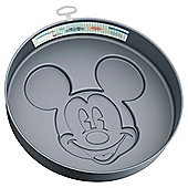 Disney Family Bakery Large Non-stick Stainless Steel Cake Pan with Hook
