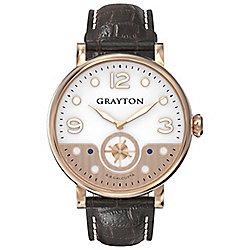Grayton S.8 Calcutta Mens Leather Watch GR-0014-007.1