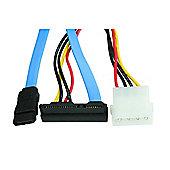 Maplin SATA II R/A (Data+Power) to Molex SATA II Cable