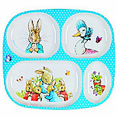 Petit Jour Peter Rabbit 4 Compartment Tray