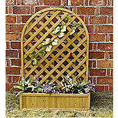 Bentley Garden Wooden Large Lattice Planter