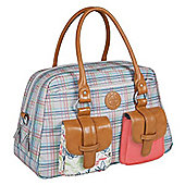 Laessig Vintage Metro Changing Bag Candy Striped