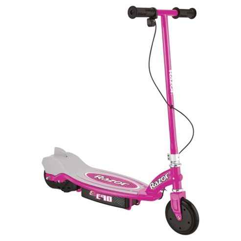 Razor E90 2-Wheel Electric Scooter, Pink