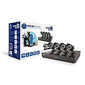 HomeGuard Pro HD 720p 8 Channel 4 Camera 1TB CCTV Kit