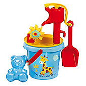 Gowi Toys 558-37 Bucket and Pump Set