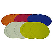 Samba 10pk Flat Disc Markers - Multi-Coloured