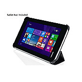 TOSHIBA 7 inch Encore Tablet Mini Stand Case PU leather/ Polyester - Black - PX1893E-1NCA