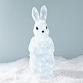 Light Up Rabbit LED Christmas Figure