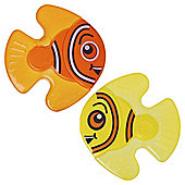 Vital Baby Nurture Fishy Friends Teether 2 Pack, Orange & Yellow