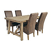 Rowico Aspen 5 Piece Dining Collection