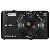 Nikon Coolpix S7000 Superzoom Digital Camera,  BLACK