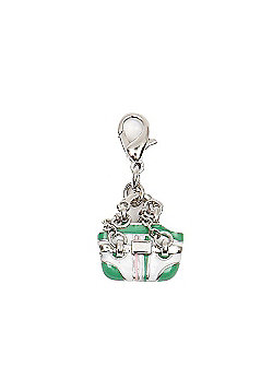 Fashionista Handbag Clip on Charm