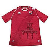 2013-14 Numancia Errea Home Shirt - Red
