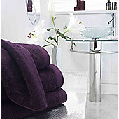 Boutique Turkish Cotton Towel Purple Bath Towel
