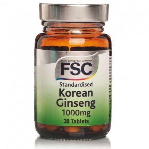 Korean Ginseng 1000Mg