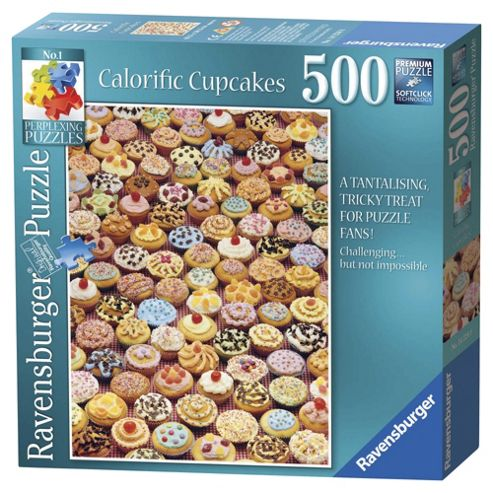 Ravensburger Cupcakes 500 Piece Jigsaw Puzzle
