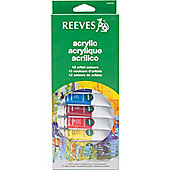 Reeves 12 Acrylic Tube Set - Arts and Crafts