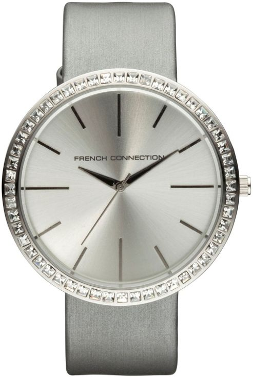 French Connection Ladies Stone Set Watch - FC1049SS