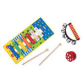 Bigjigs Toys Wooden Music Set