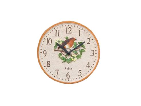 Westmeters Wm15895 Robin Clock 8In