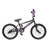 Rooster Go Easy Freestyle BMX Matt Black/Purple
