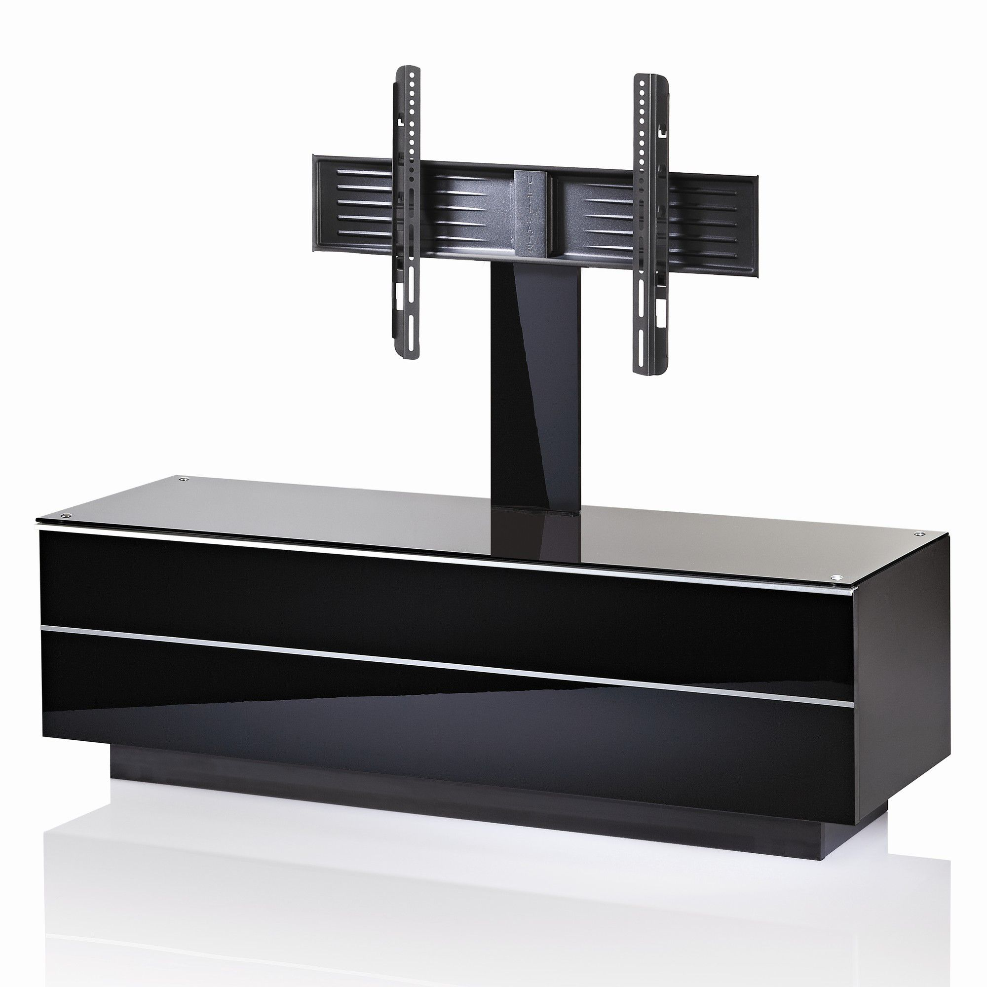 UK-CF G Series GS TV Stand - Black - 135cm at Tesco Direct